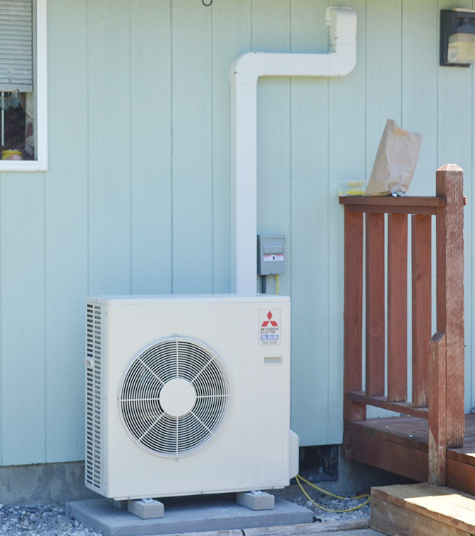 mitsubishi ductless air conditioner installation