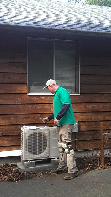 ductless mini split air conditioner installation