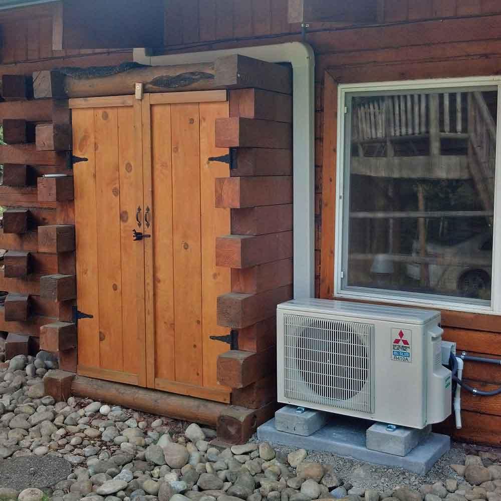 mini split ac installation residential