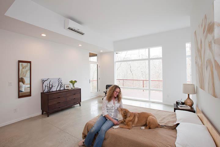 ac installation in bedroom