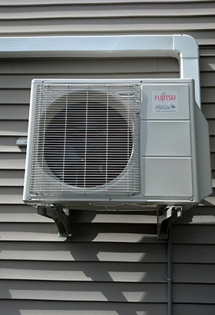 alpine ductless air conditioner installation in olympia washington