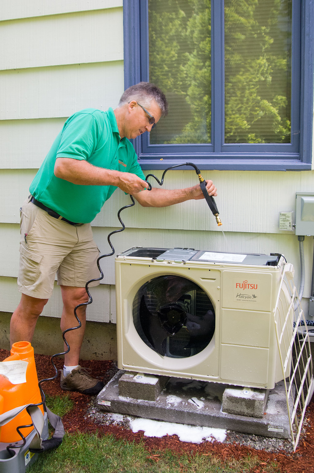 Peace of Mind Deep Cleaning and Inspection - Washing System